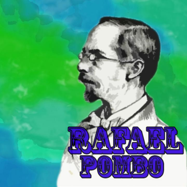 Imagen de Rafael Pombo commons.wikimedia.org Rafael Udardaneta - Diseño final: Natalia Zapata. Señal Memoria.