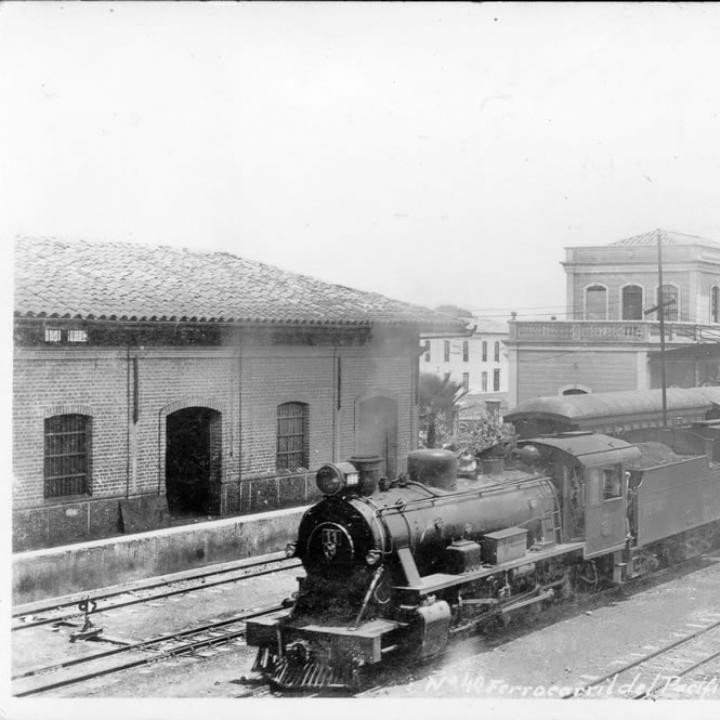 Ferrocarril del Pacífico. Foto: Biblioteca Departamental del Valle del Cauca