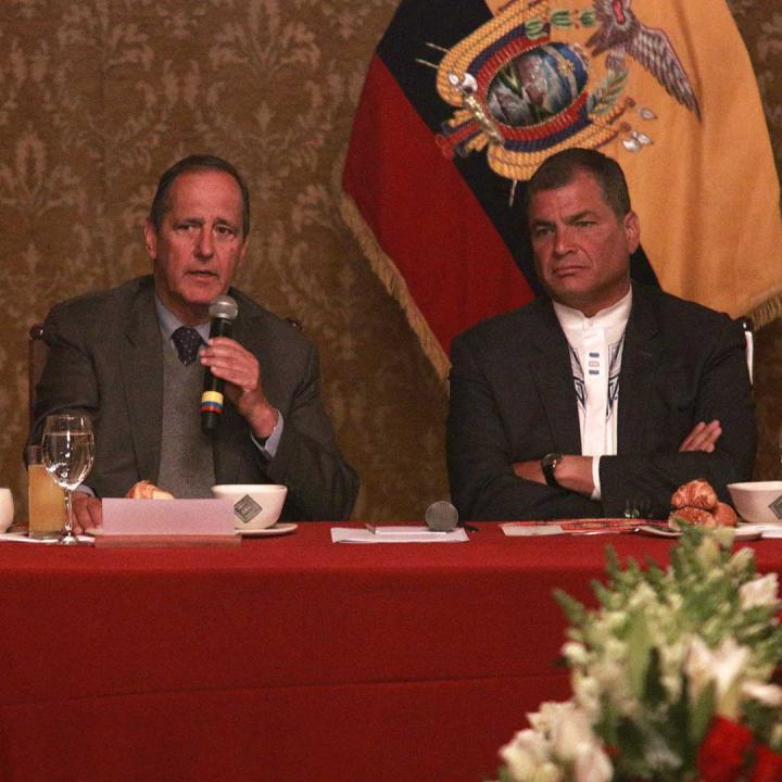 Instalación de mesa en segundo ciclo de negociaciones entre Gobierno y Eln. Foto: Presidencia de la República.