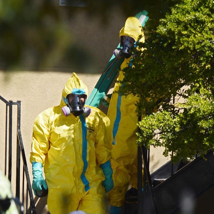 Una mayoría de estadounidenses (un 58 %) tiene confianza en la capacidad del Gobierno para prevenir un brote de ébola en el país, según una encuesta del Centro Pew divulgada hoy./ Foto: EFE/EPA/LARRY W. SMITH