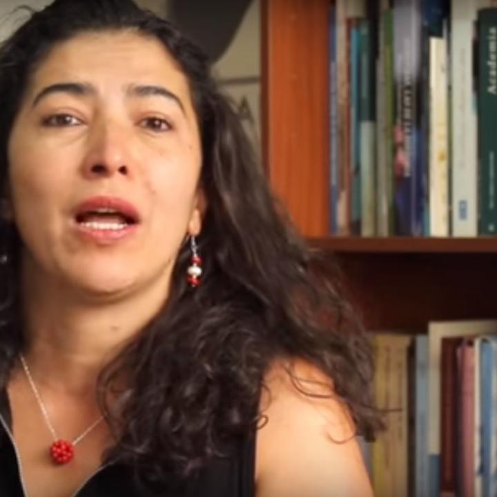 Adriana Benjumea. Foto: Video YouTube Corporación Humanas