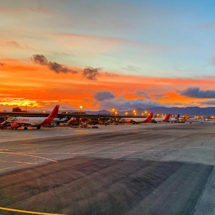 Foto: Twitter Aeropuerto El Dorado