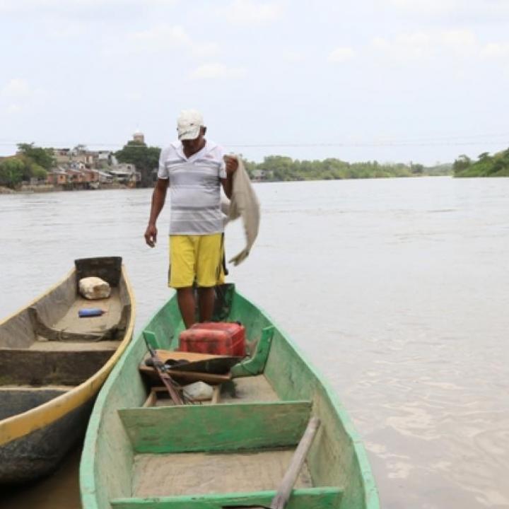 Foto: Río abajo. Cultura y comunicaciones.