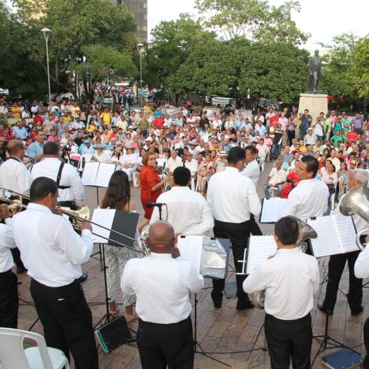 Foto: Banda Departamental de Sucre.