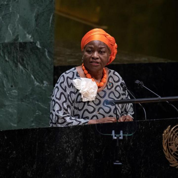 Jefa de ONU Mujeres, Phumzile Mlambo-Ngcuka. Foto: EFE