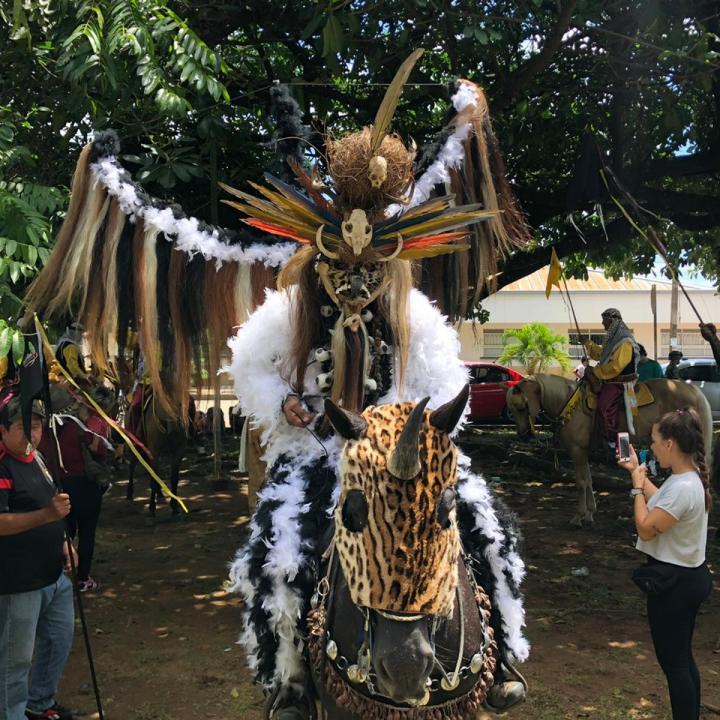 'Cachacero' participante de las Cuadrillas de San Martín. Foto: Jeisson Cañón.
