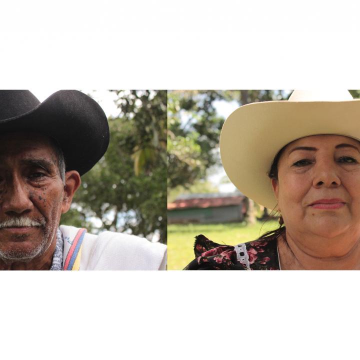 Fotos: Nangibe Torres. Travesías de arpa. Radio Nacional de Colombia