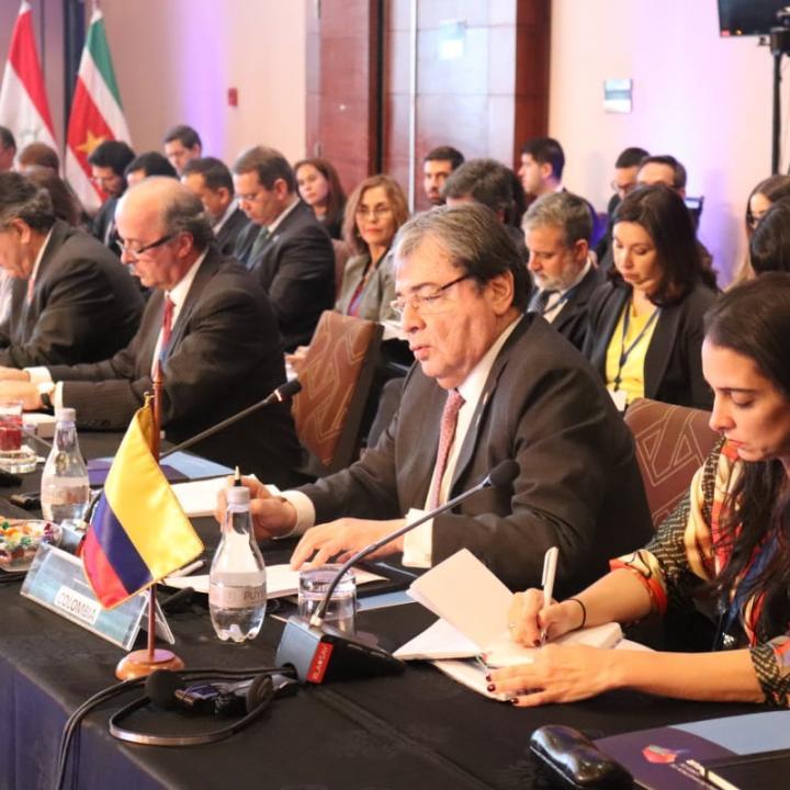 Foto: Cancillería   Ministerio de Relaciones Exteriores
