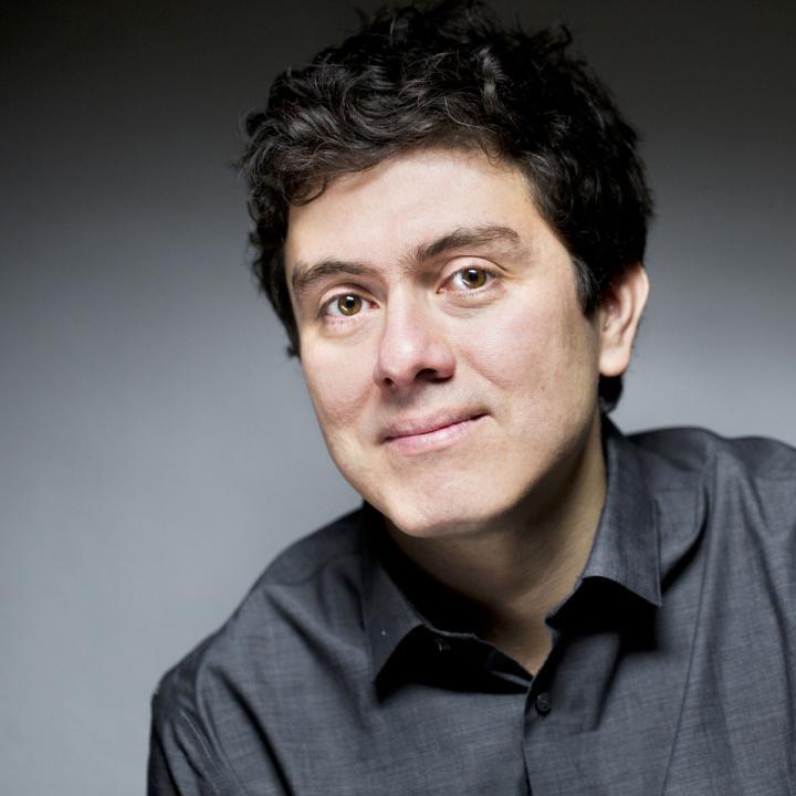 El músico bumangués Juan Pablo Carreño. Foto: Olivier Roller.
