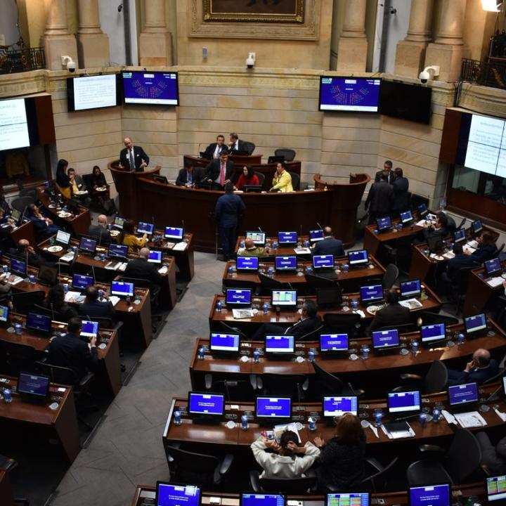 Foto: Twitter Senado Colombia.