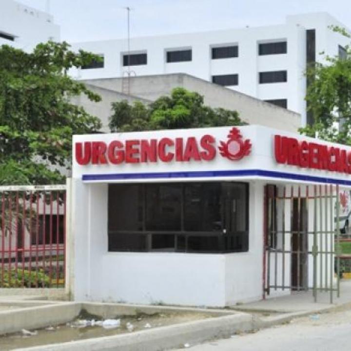 Foto: fachada de la Clínica El Bosque. Cortesía de El Heraldo.
