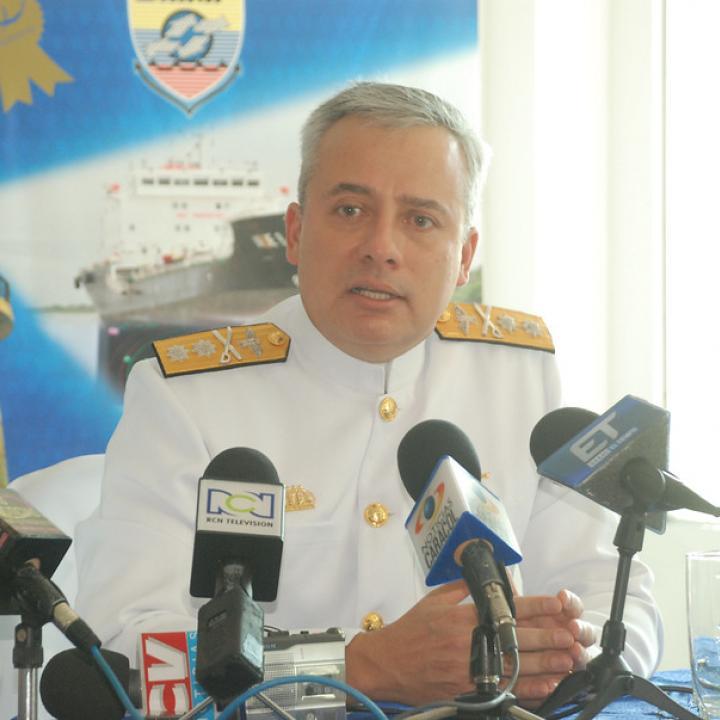 Vicealmirante Ernesto Durán. Foto: Colprensa