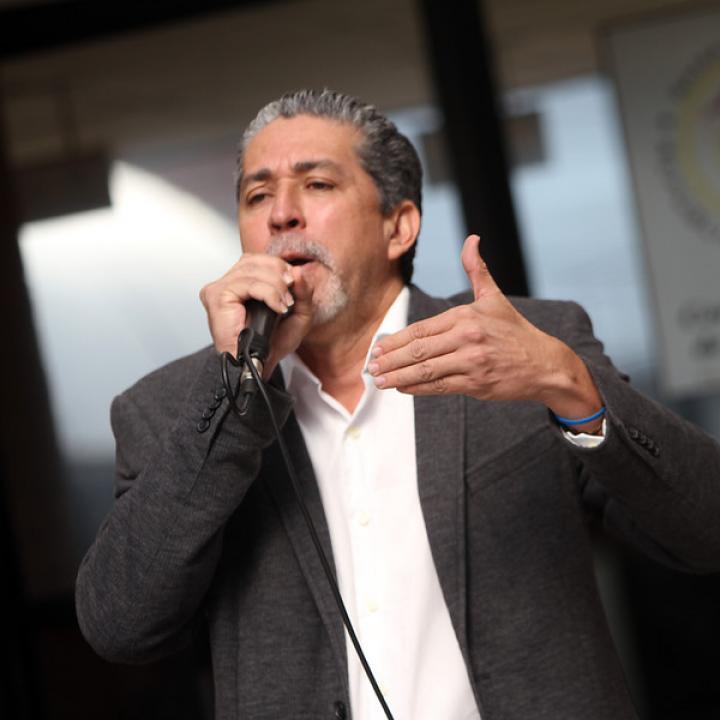 Freddy Machado, presidente de Asonal Judicial. Foto: Colprensa