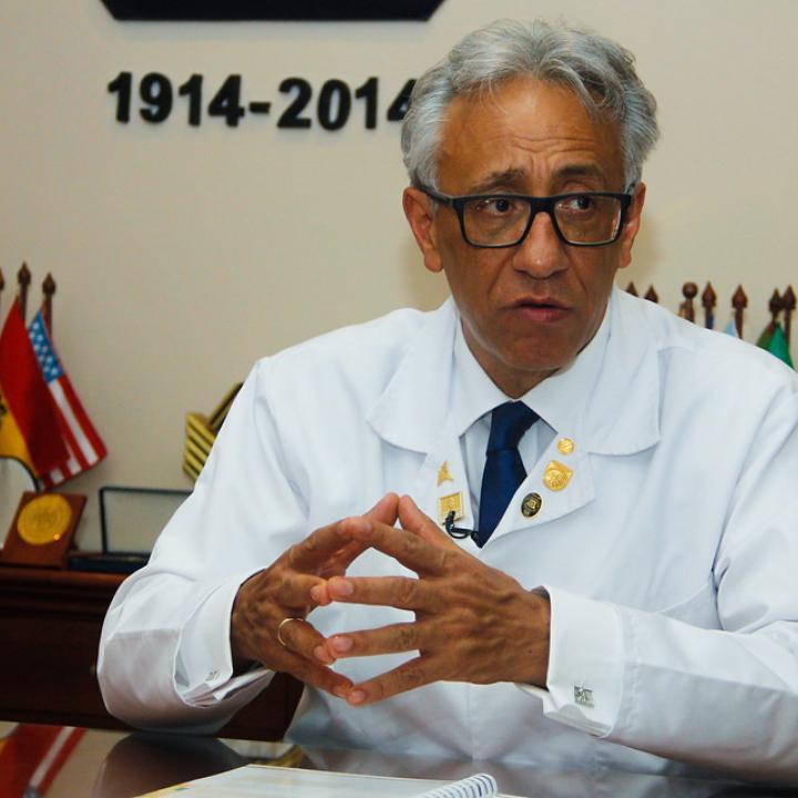 Carlos Valdes, director de Medicina Legal. Foto: Colprensa