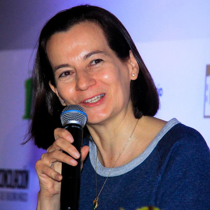 Representante Clara Rojas. Foto: Clara Rojas.