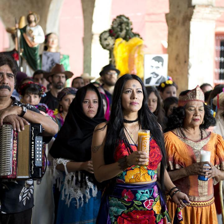 Lila Downs es un ícono latinoamericano del arte, la música y la cultura. Foto: Colprensa - Sony Music. Mayo 2017.