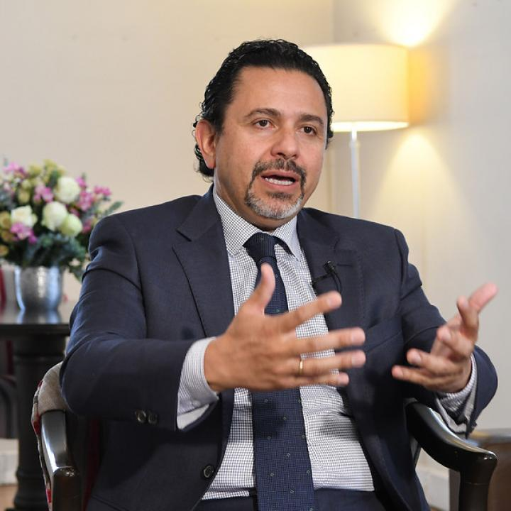 Alto comisionado para la Paz, Miguel Ceballos. Foto: Colprensa