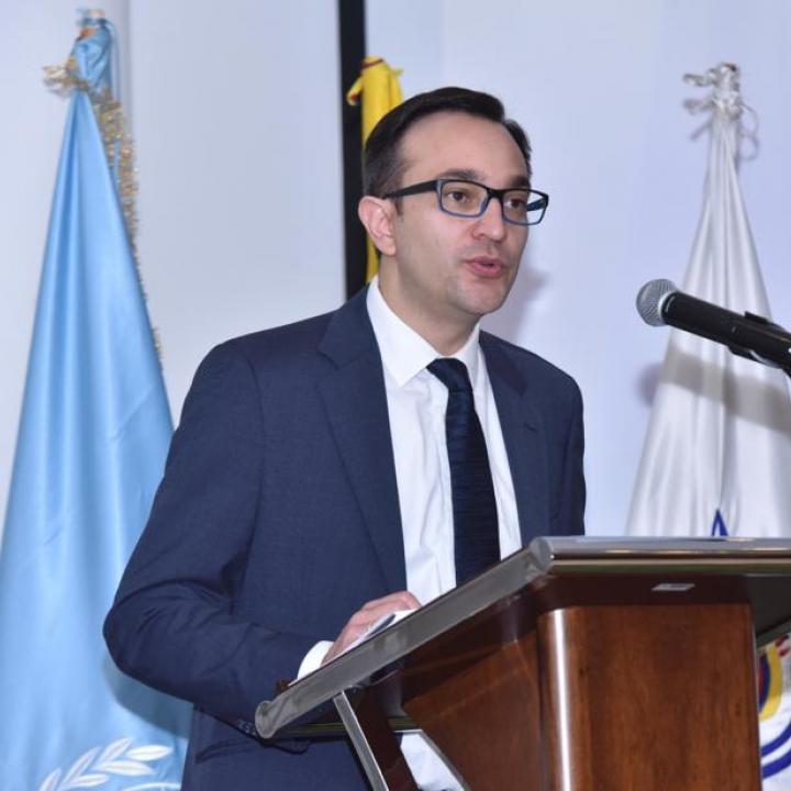 Andrés Hernández. Foto: Transparencia por Colombia.