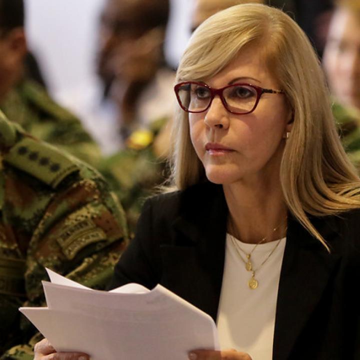 Gobernadora del Valle del Cauca, Dilian Francisca Toro Torres. Foto: Colprensa