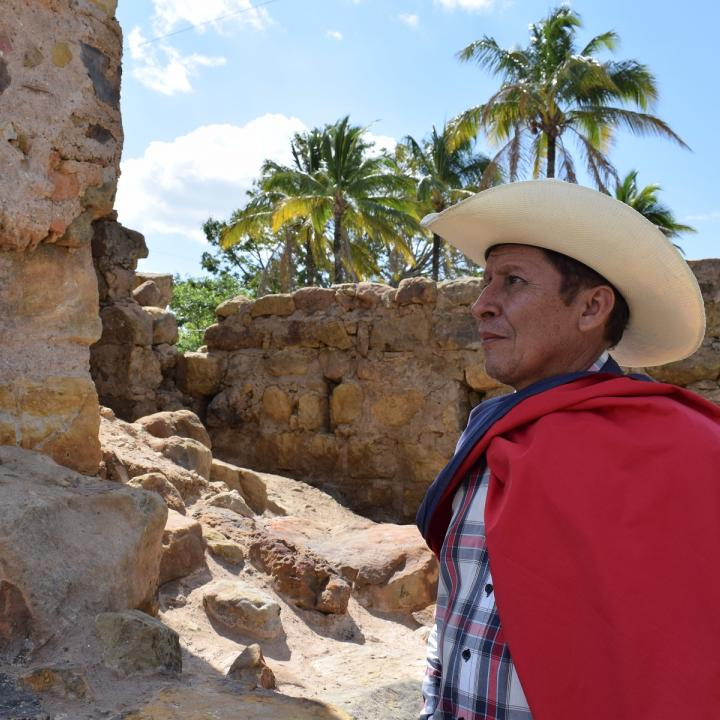 Luis María Batidas, historiador y escritor poreño. Foto: Miguel Ángel Cortés.