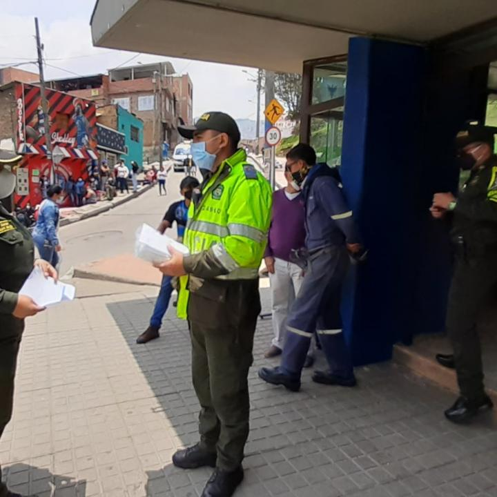 Foto: Twitter Policía Nacional