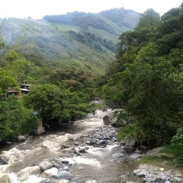 Según el POMCA del río Amoyá, habrían riesgo en algunas de las veredas aledañas a la afluente. | Foto: IGAC.