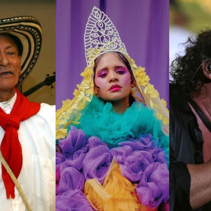 Fotos: Toño García (Colprensa), Lido Pimienta (Facebook) y Carlos Vives (Colprensa).
