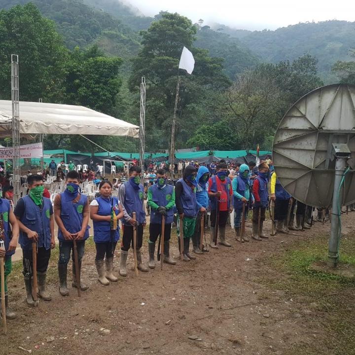 Foto cortesía: Organización indígena de Colombia