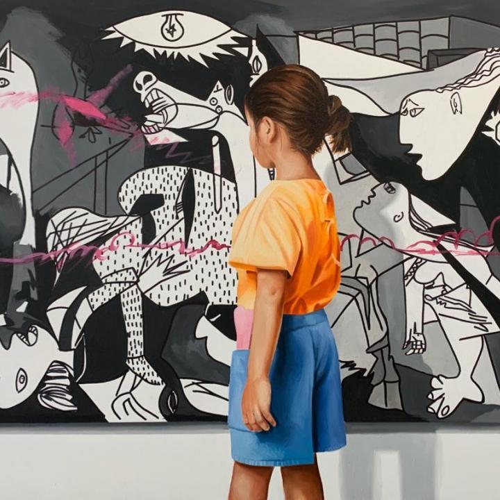 Obra del artista Javier Caraballo