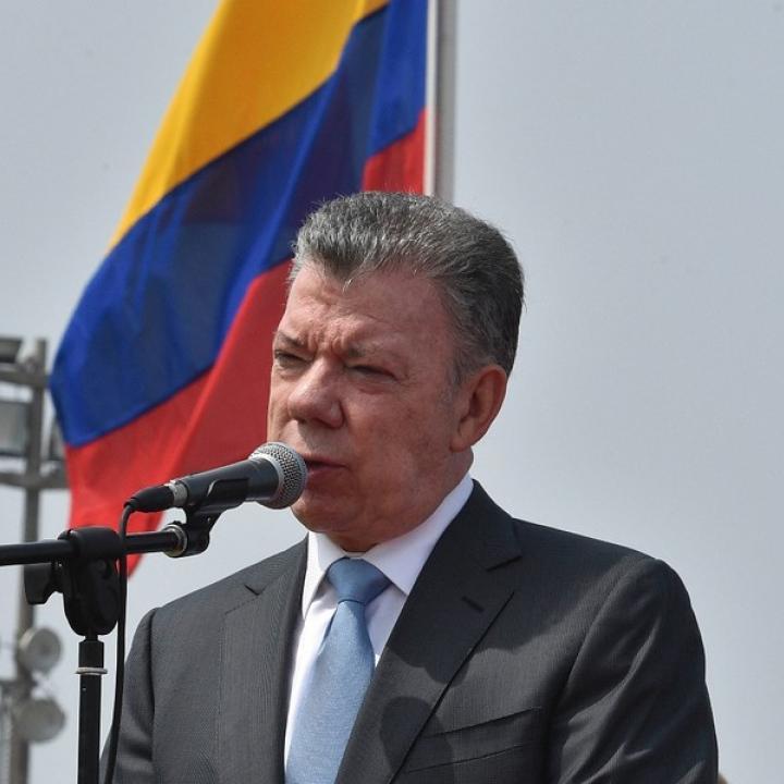 El presidente de la República evalúa la posibilidad de convocar a sesiones extras al Congreso de la República. Foto: Colprensa.
