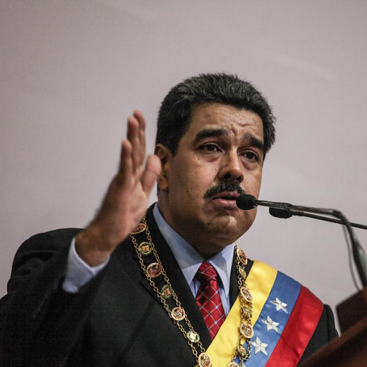 Presidente de Venezuela, Nicolás Maduro. Foto: Archivo Colprensa 2018.