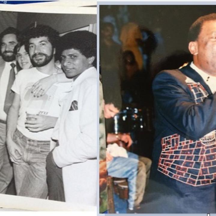 Fotos archivo Maestro Willie Vergara