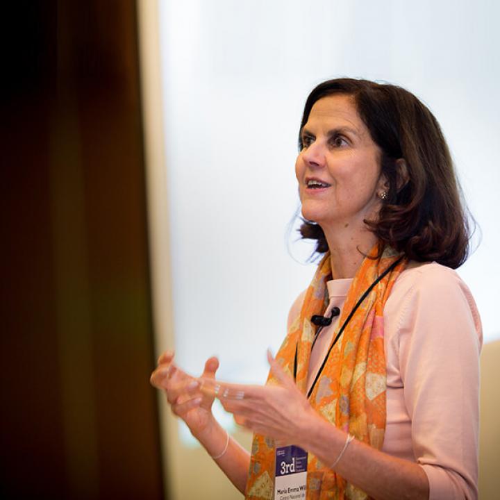 María Emma Wills, Asesora de la Dirección General en el Centro Nacional de Memoria Histórica. Foto: Universidad de los Andes.