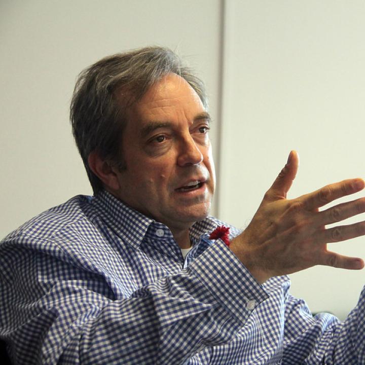 Mauricio Perfetti, director del Departamento Administrativo Nacional de Estadística (Dane). Foto: Colprensa. Abril 2018.