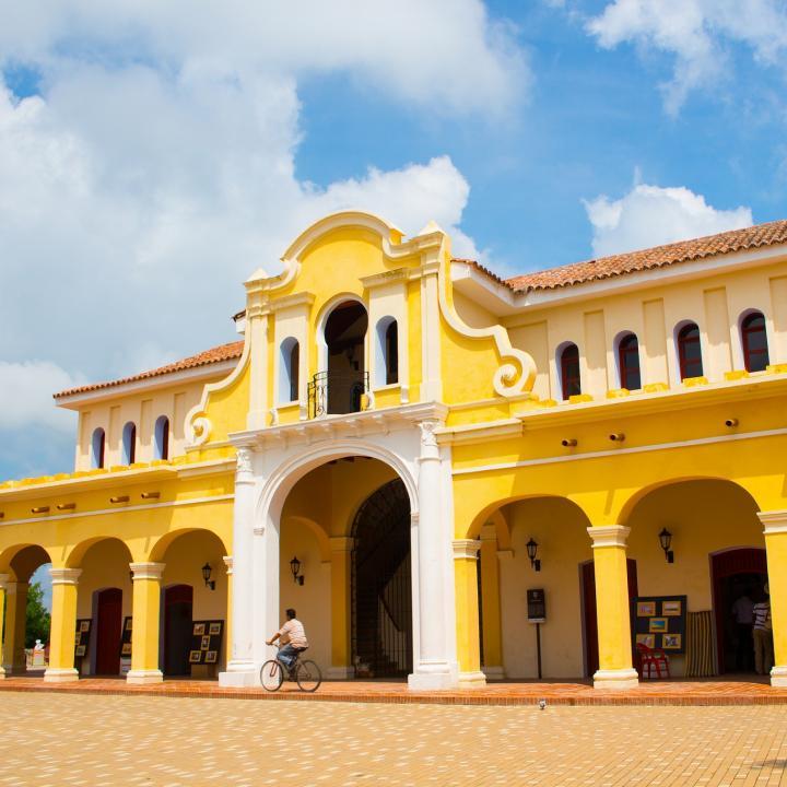Santa Cruz de Mompx es uno de los destinos por excelencia en temporada de Semana Santa en Colombia. Foto: Fontur