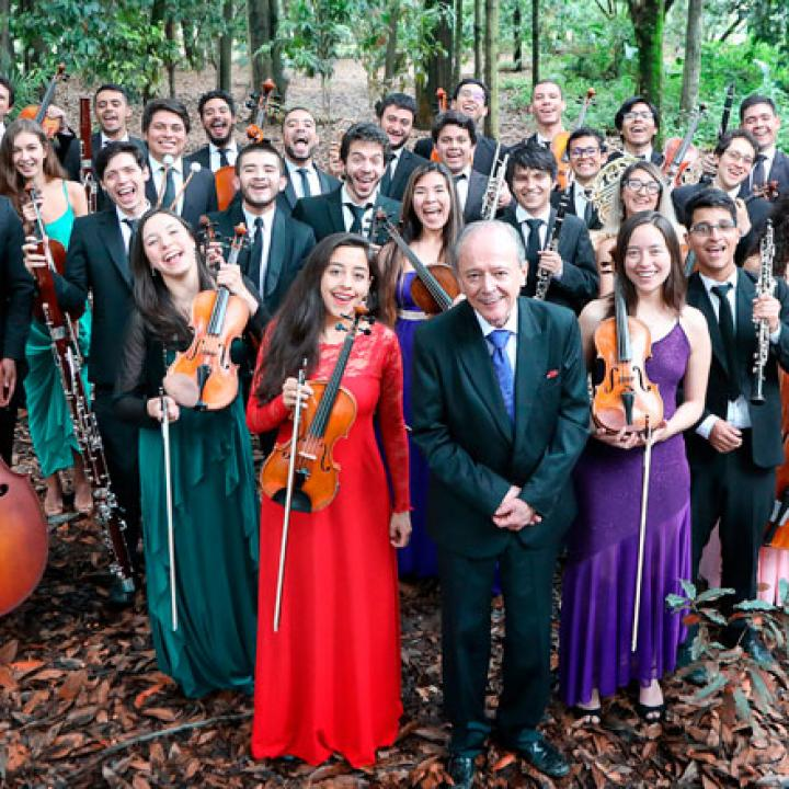 Foto: Sinfónica Nacional de Colombia.