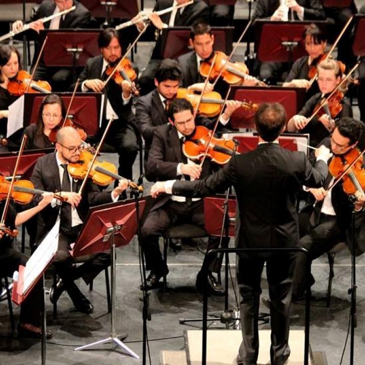 Foto Orquesta Sinfónica Nacional de Colombia.