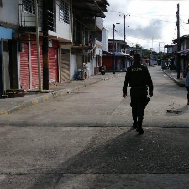 Foto: Twitter Policia Chocó
