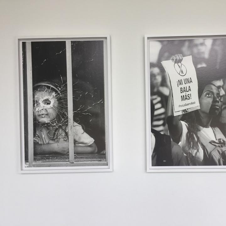 Foto: Meller Miranda. Exposición Jesús Abad Colorado Teatro La Vorágine-Villavicencio