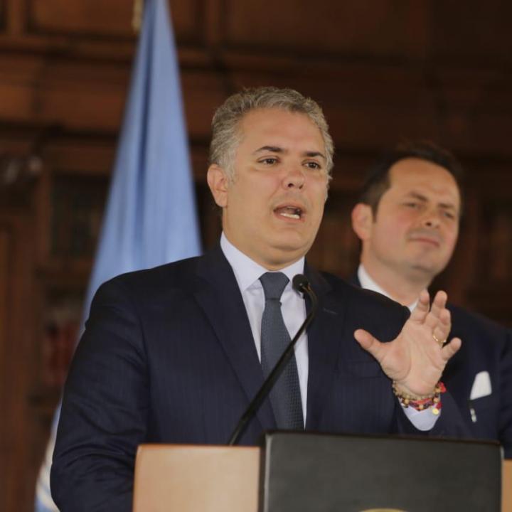 Foto: Presidencia de la República.