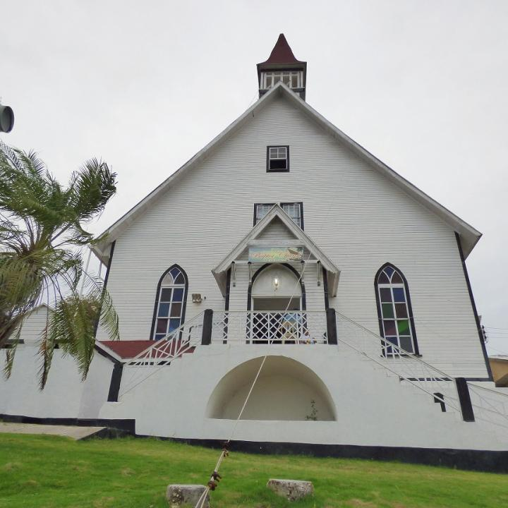 Foto: La Primera Iglesia Bautista es considerada como el templo más antiguo de América en su género.