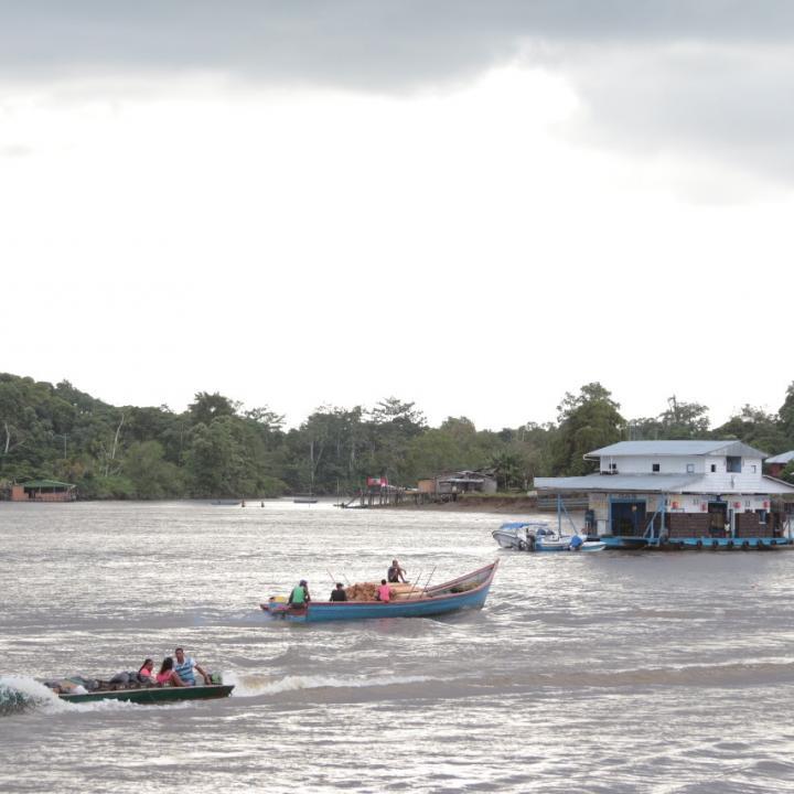 Un funcionario del Hospital Sagrado Corazón de Jesús, en diálogo con Radio Nacional de Colombia, afirmó que el conflicto ha afectado el desempeño normal de los programas de salud. Foto: Prensa Gobernación de Nariño.