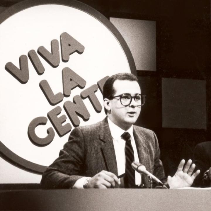 Foto archivo: Telesemana 1985-1992. Instagram.