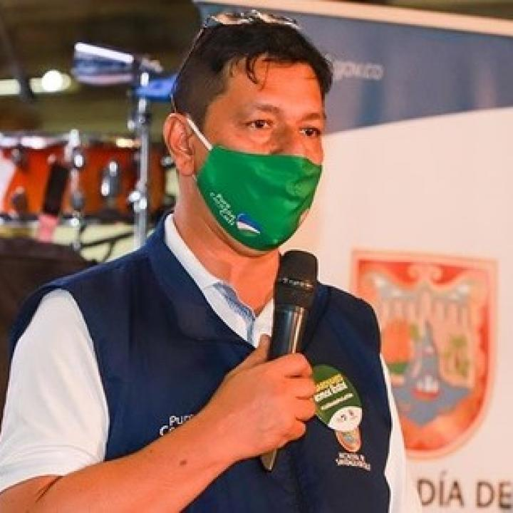 Secretario de Seguridad y Justicia, Carlos Alberto Rojas Cruz. Foto: Alcaldía de Cali.