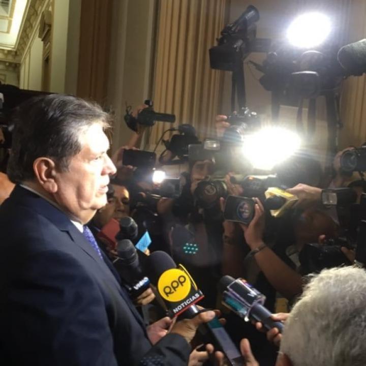 Foto: Cuenta de Twitter Alan García.