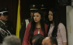 Laura Moreno y Jessy Quintero en audiencia. Foto: Colprensa