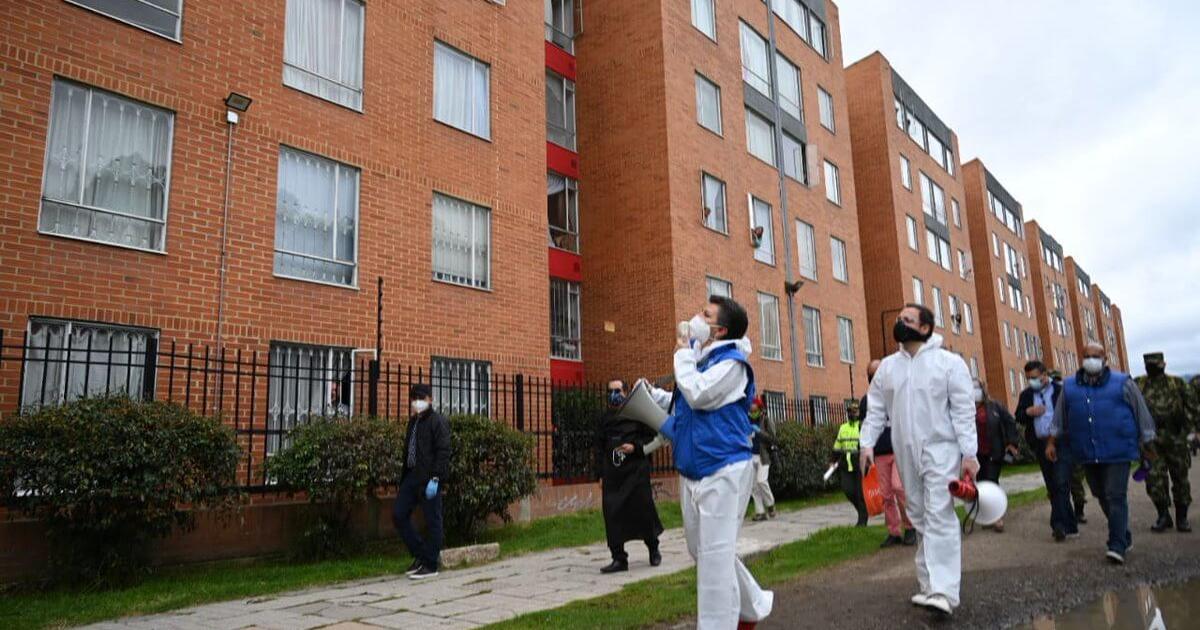 Covid-19: estas son las nuevas zonas con alerta naranja en Bogotá | Radio Nacional de Colombia